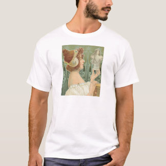 "French Art Nouveau ""Laurier Objets d'Art"" T-Shirt"