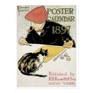 French Art Nouveau Postcard