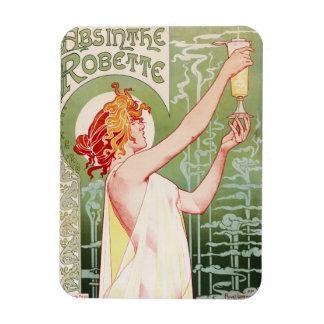 "French art nouveau poster ""absinthe Robette"" Magnet"