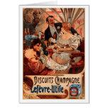 French Art Nouveau Publicity Poster Cards