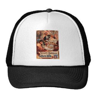 French Art Nouveau Publicity Poster Trucker Hat