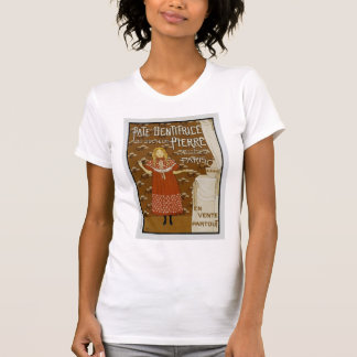 French Art Nouveau Toothpaste Ad T-shirt