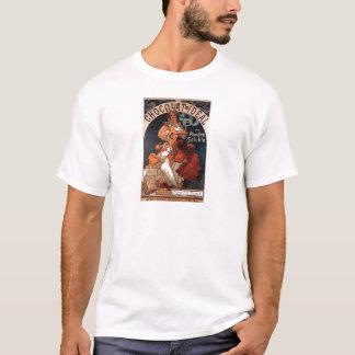 French Art Nouveau Vintage Poster T-shirt