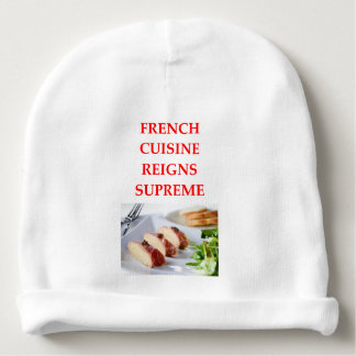 FRENCH BABY BEANIE