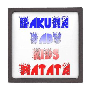 French Baby Kids Hakuna Matata.png Gift Box