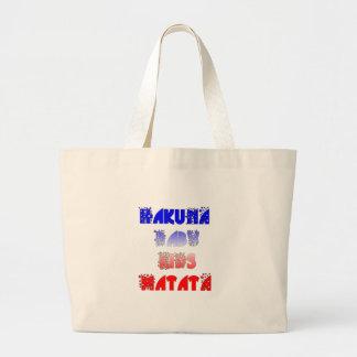 French Baby Kids Hakuna Matata.png Large Tote Bag