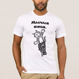 French Bad Monkey Shirt
