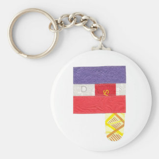 French Baguette Keyring Keychain