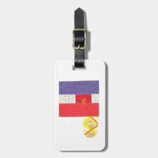 French Baguette Luggage Tag