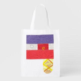 French Baguette Reusable Bag Grocery Bag