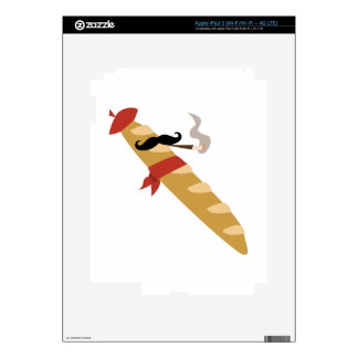 French Baguette Skin For iPad 3