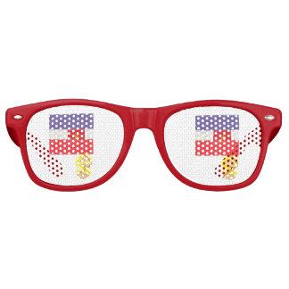 French Baguette Wayfarer Sunglasses