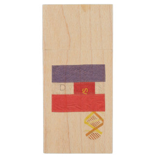 French Baguette Wooden Pendrive Wood USB 3.0 Flash Drive