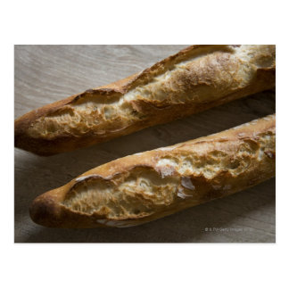 French baguettes, French bread, close up Postcard