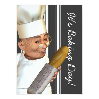French Baker XL Event Invitations