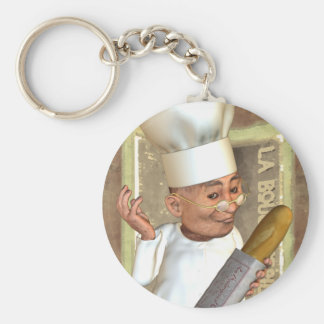 French Bakery Keychains