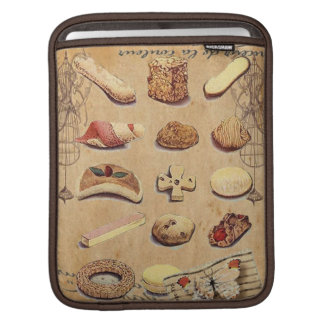 french bakery pastry cookies cake dessert sleeve for iPads