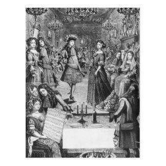 French Ball, Royal Almanac Postcard