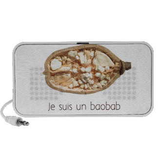 French Baobab Portable Speakers