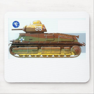FRENCH BATTLE TANK MOUSE PAD