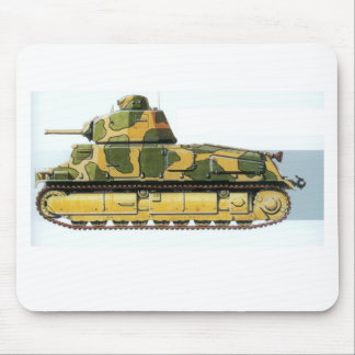 FRENCH BATTLE TANK MOUSE PADS