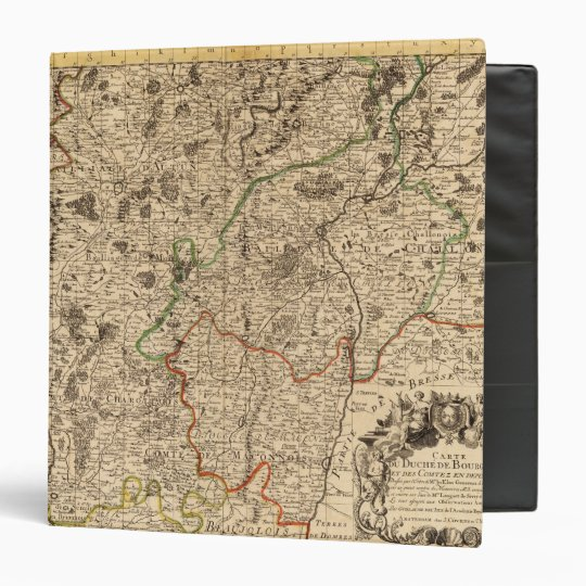 French battlefields and roads 3 ring binder