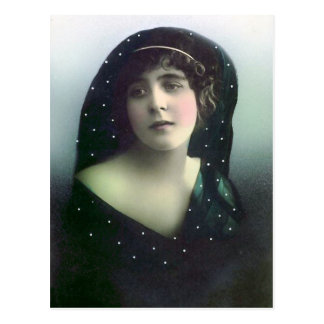 """""""French Beauty"""" Postcard"""
