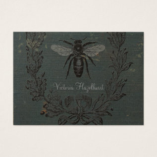 French Bee Business Card at Zazzle