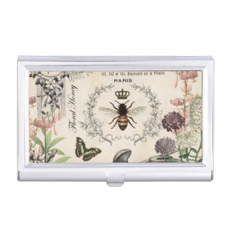 FRENCH BEE GARDEN BUSINESS CARD CASE