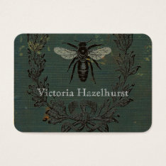 French Bee No. 6 Professional Business Card at Zazzle