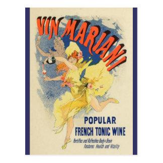 French Belle Epoque vintage poster postcard