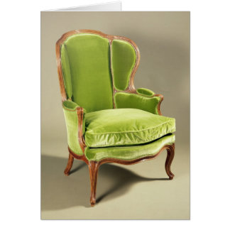 French bergere chair, c.1725 card