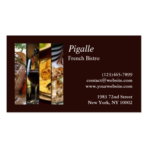 bakery business card templates page40 bizcardstudio