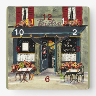 French Bistro wall clock