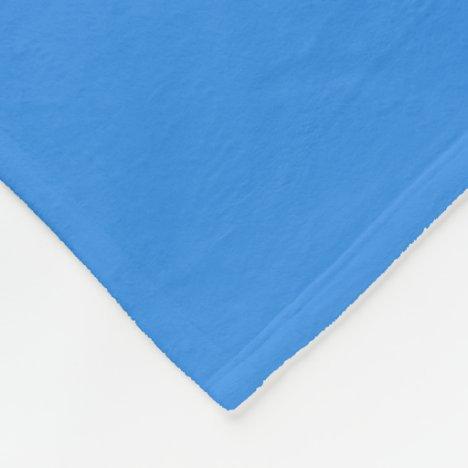 French Bleu Fleece Blanket