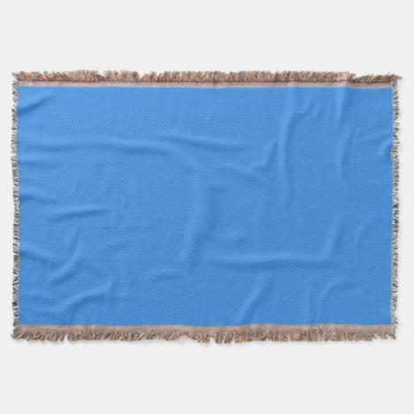 French Bleu Throw Blanket