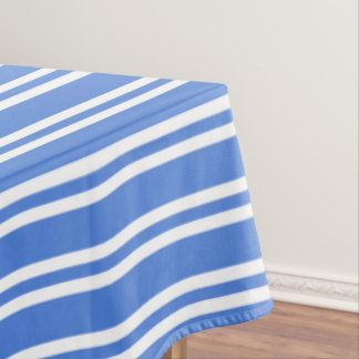 High Quality French Blue And White Stripes Tablecloth