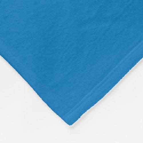 French Blue Fleece Blanket