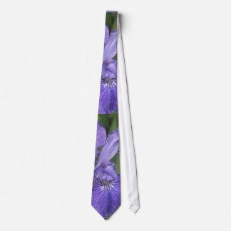 French Blue Iris Wedding Tie