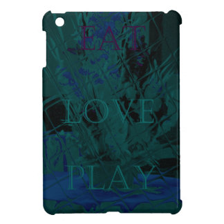 French Blue  Love Eat  Play Flower colors for all  iPad Mini Covers