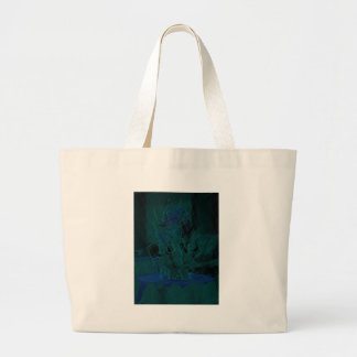 French Blue  Love Eat  Play Flower colors for all  Jumbo Tote Bag