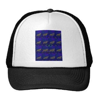 French Blue  Safari  Lets Go Zebra  Hakuna Matata  Trucker Hat