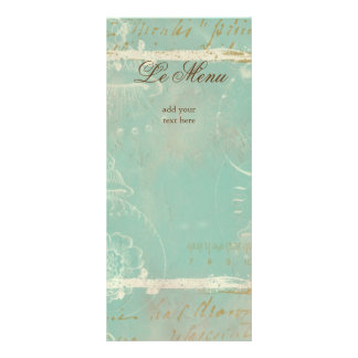 French Blue Toile Rack Cards