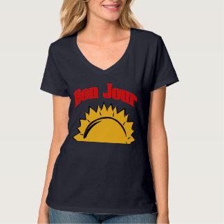 French, Bon Jour Sun Up T-Shirt