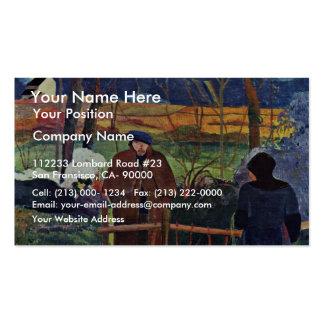 French: Bonjour Monsieur Gauguin (Ii), Good Mornin Business Cards