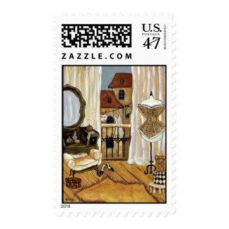 French-Boudoir Stamp