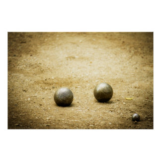 French Boules Print