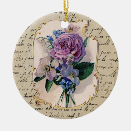 French Bouquet Ornament