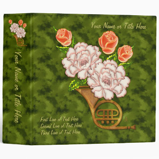 French Bouquet (Personalized) Binder