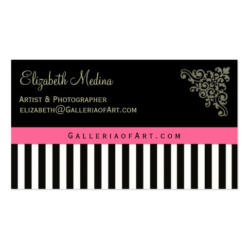 French Boutique Business Cards